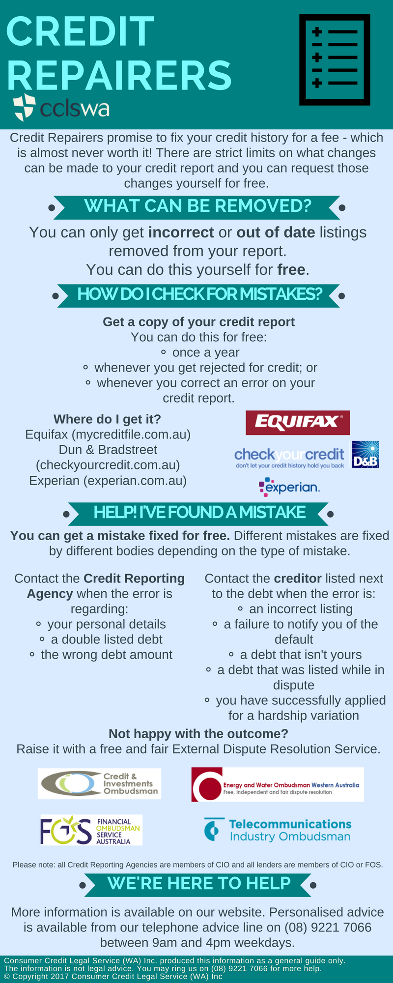 Credit Repairers Infographic