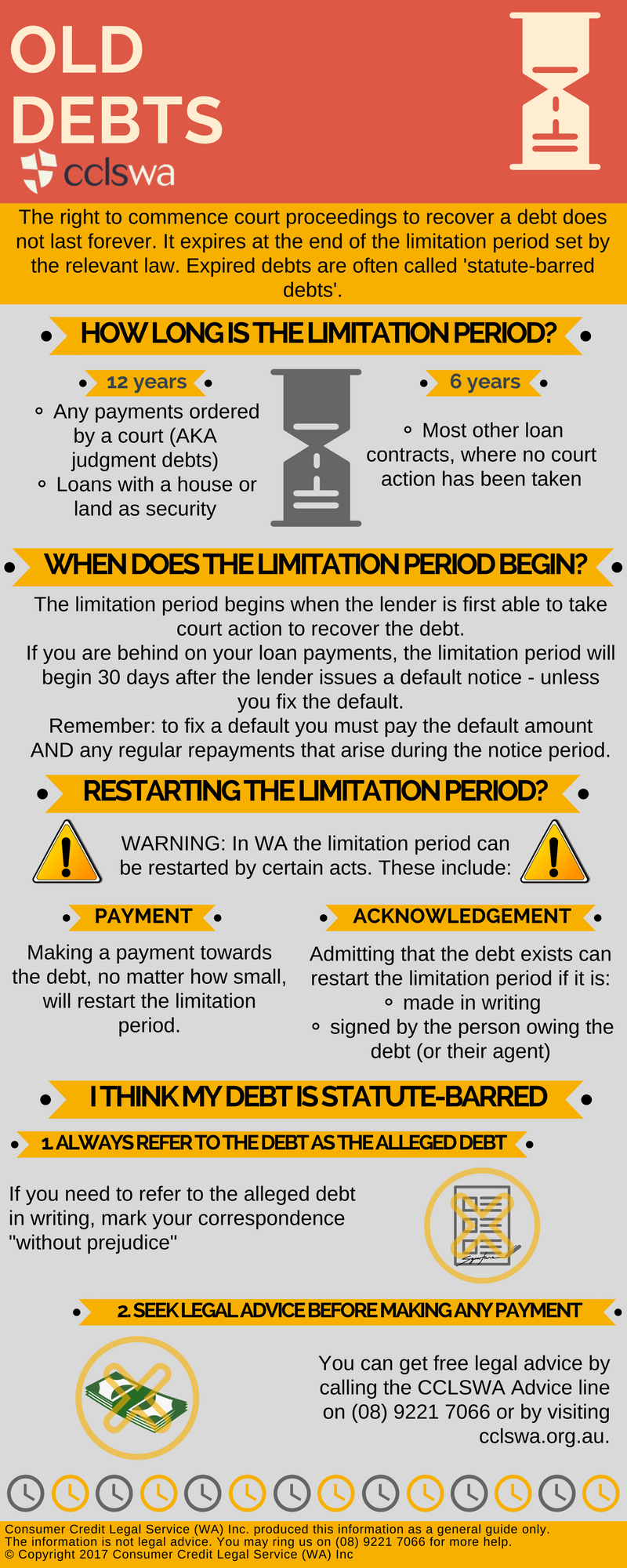 Old Debts Infographic
